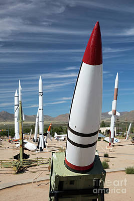 Photograph - Missiles by Jim West