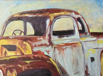 Painting - Missing A Few Parts by Barbara O'Toole