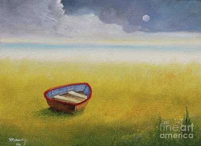 Painting - Missing Boat by Alicia Maury
