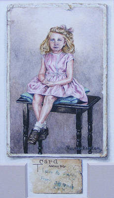 Painting - Missing Daddy, Devonshire 1940 by Denise Horne-Kaplan