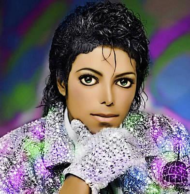 Digital Art - Missing Michael by Karen Showell