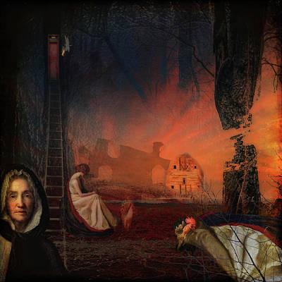 Digital Art - Missing Pieces by Sue Masterson