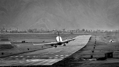 Himalayas Photograph - Missing The Runway by Krishnaraj Palaniswamy
