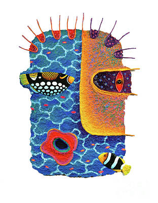 Missing The Sea Art Print by Opas Chotiphantawanon