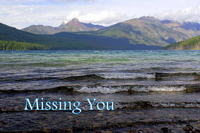 Greeting Card - Missing You 1 by Marty Koch