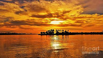 Photograph - Mission Beach Golden Sunset by Jasna Gopic
