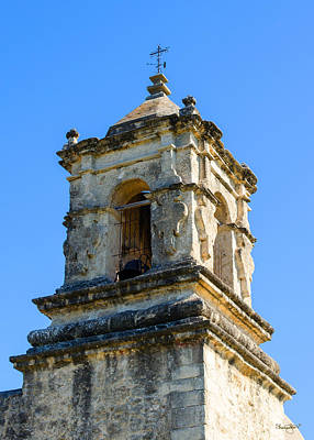 Photograph - Mission Bell Tower by Shanna Hyatt