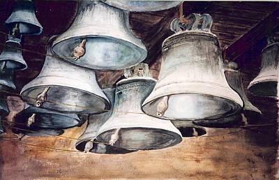 Mission Bells Art Print by Dwight Williams