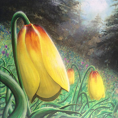Bigsky Painting - Mission Bells by Joe Ziolkowski