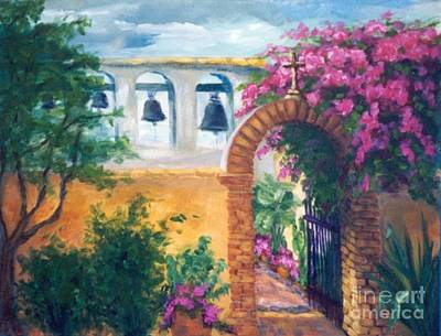 Painting - Mission Bells by Pat Heydlauff