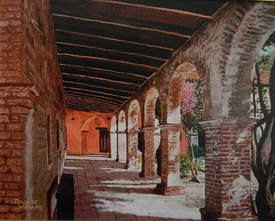 Painting - Mission Capistrano by Duwayne Williams