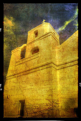 Photograph - Mission Church Scottsdale Arizona by Roger Passman