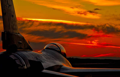 F-16 Wall Art - Photograph - Mission Complete by Mountain Dreams
