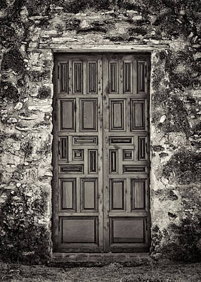 Mission Concepcion Door #1 Art Print