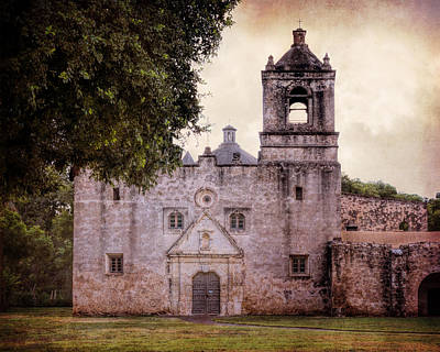 San Antonio Wall Art - Photograph - Mission Concepcion San Antonio II by Joan Carroll
