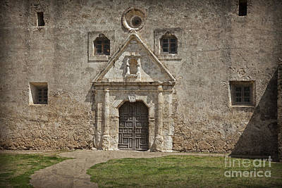 Photograph - Mission Concepcion San Antonio Texas by John Stephens