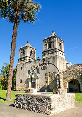 Photograph - Mission Concepcion-vertical by Shanna Hyatt
