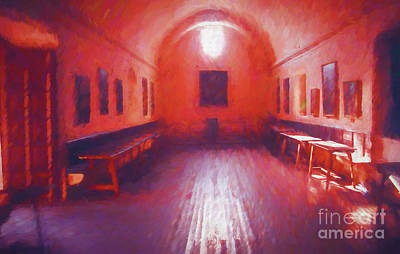 Photograph - Mission Dining Room by Rick Bragan