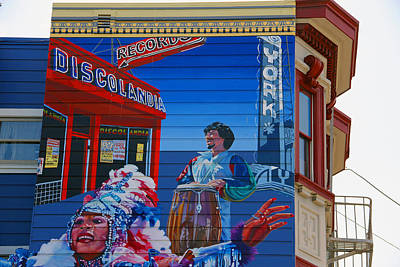 Photograph - @mission District Sf by Jim McCullaugh