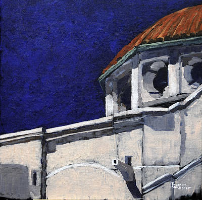 Dolores Painting - Mission Dolores  by Tom Sarradet
