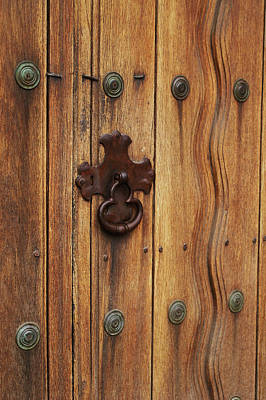 Photograph - Mission Door by Gary Brandes