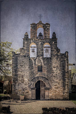 Photograph - Mission Espada by Teresa Wilson