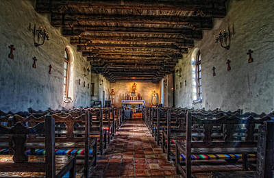 Photograph - Mission Espada by Van Sutherland