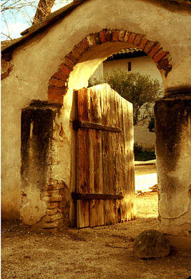 Photograph - Mission Gate - San Miguel by Gary Brandes