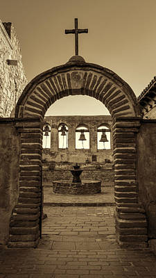 Mission Gate And Bells #2 Art Print