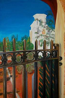 Painting - Mission Gate by Charla Van Vlack