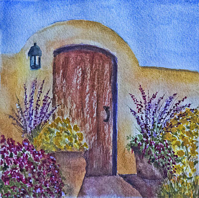 Painting - Mission Gate by Terry Ann Morris
