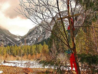 Photograph - Mission Mountain Wilderness by Leah Grunzke