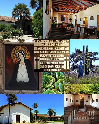 Digital Art - Mission Nuestra Senora De La Soledad by Methune Hively