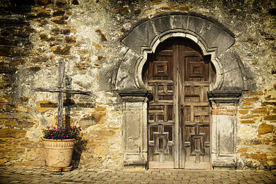 San Antonio Wall Art - Photograph - Mission Pilgrimage by Stephen Stookey