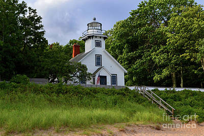 Photograph - Mission Point Lighthouse by Amy Lucid