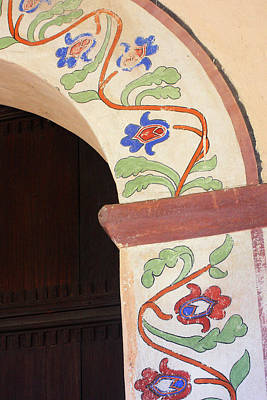 Photograph - Mission San Antonio Arch by Art Block Collections