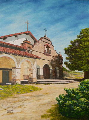 Painting - Mission San Antonio by Duwayne Williams