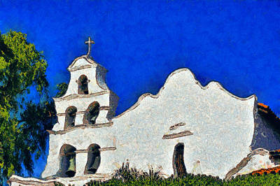 Mission San Diego De Alcala Art Print by Christine Till