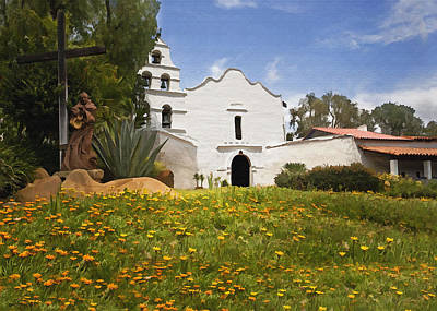 Photograph - Mission San Diego De Alcala by Sharon Foster
