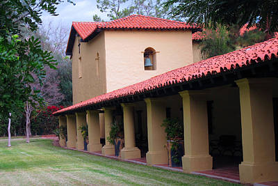 Photograph - Mission San Fernando - Los Angeles California by Ram Vasudev