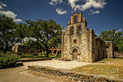 Photograph - Mission San Francisco De La Espada by Franz Zarda