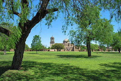 Photograph - Mission San Jose 2 - San Antonio - Texas - Usa  by Gregory Ballos