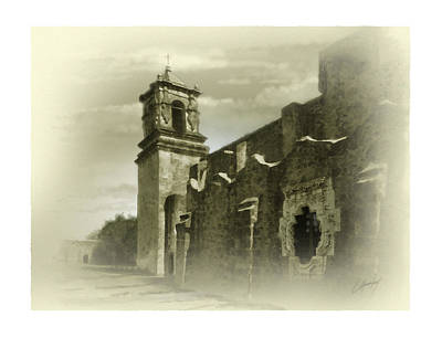 Mission San Jose Bell Tower Art Print by Cliff Hawley