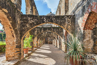 Landmarks Photograph - Mission San Jose Buttress by Tod and Cynthia Grubbs