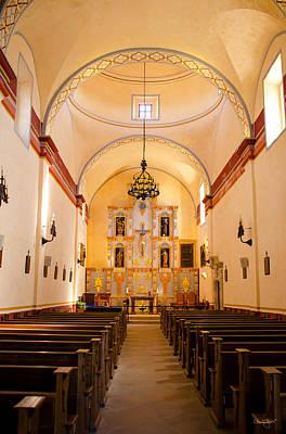 Photograph - Mission San Jose Chapel by Shanna Hyatt