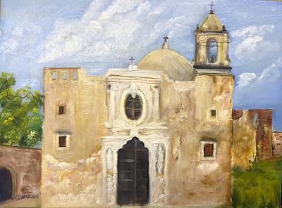 Painting - Mission San Jose' by Cheryl Damschen