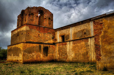Photograph - Mission San Jose De Tumacacori National Historical Park Bell Tower by Roger Passman