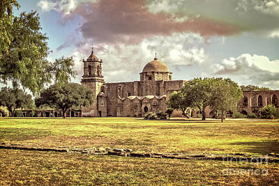 Photograph - Mission San Jose by Franz Zarda