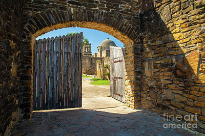 Photograph - Mission San Jose Gate by Inge Johnsson