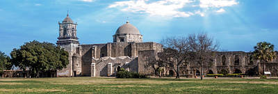 Photograph - Mission San Jose Panorama by Patti Deters